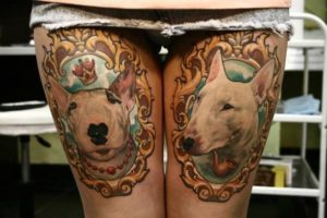15 Best Bull Terrier Tattoo Designs