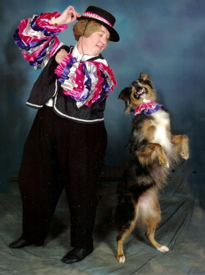 Dancing partners with your dog