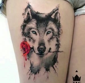 15 Best Husky Tattoo Designs