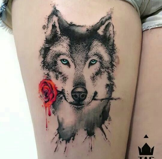 15 Best Husky Tattoo Designs Inside Dogs World