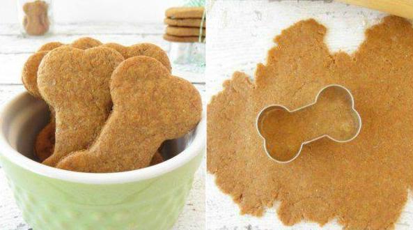 Peanut butter DIY dog treats for your pet