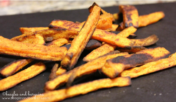 Sweet potato fries for your dog to treat