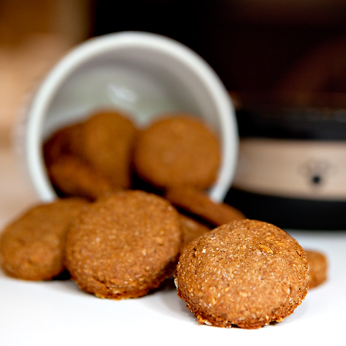 Pumpkin biscuits for your dog DIY