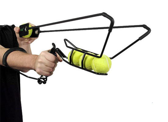Tennis ball launcher gift for dogs