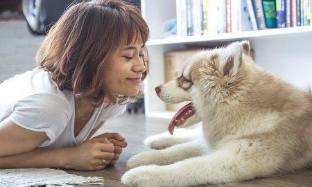 Women Dog